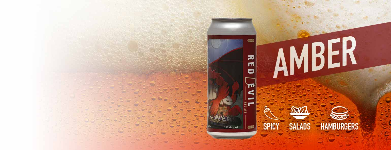 Blue Elephant  Red Devil Red Ale
